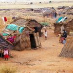 Armenviertel in Südwest-Madagaskar