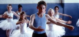 """Billy Elliot - I will dance"" GB 2000 Szene mit Jamie Bell (vorne)"