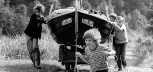 """""""Flußfahrt mit Huhn"""" BRD 1983/1984"""